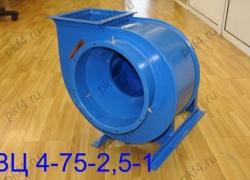 Вентилятор ВЦ 4-75-2,5-1