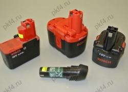 Аккумуляторы для шуруповёрта