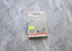 Скоба для степлеров тип Т55 16/6 с узкой перекладиной 1000 шт. BOSCH/1609200372