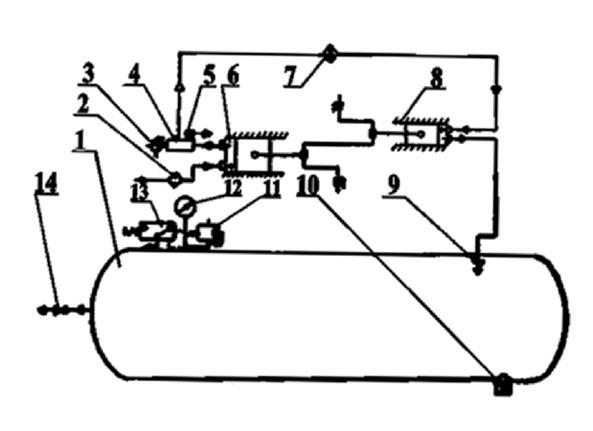 Схема компрессора с415м