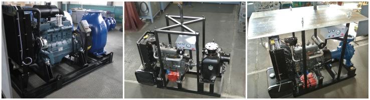 Производство дизельных насосных агрегатов (ДНА)