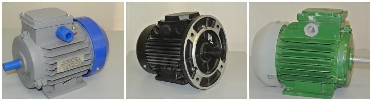Общепромышленные, взрывозащищенные, крановые электродвигатели