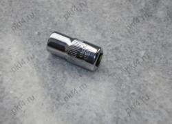 """Головка торцевая шестигранная 7 мм 1/4"""" SATA/11307"""