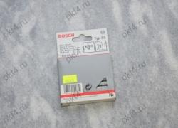 Скоба для степлеров тип Т55 12/6 с узкой перекладиной 1000 шт. BOSCH/1609200370