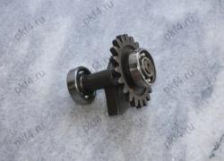 Вал дополнительный с колесом зубчатым для Тайги-245