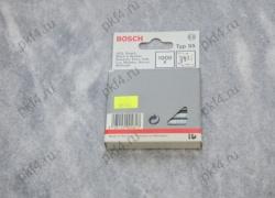 Скоба для степлеров тип Т55 14/6 с узкой перекладиной 1000 шт. BOSCH/1609200371