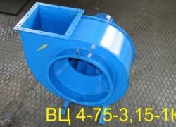 Вентилятор ВЦ 4-75-3,15-1К